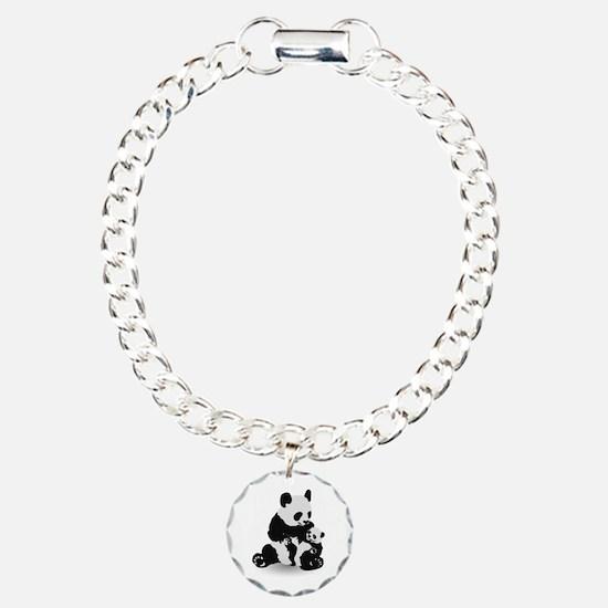 Panda & Baby Panda Bracelet