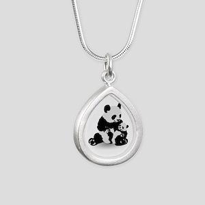 Panda & Baby Panda Necklaces