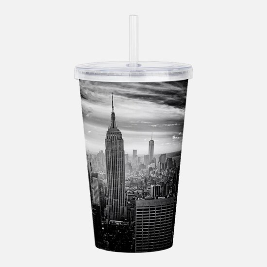 New York Acrylic Double-wall Tumbler