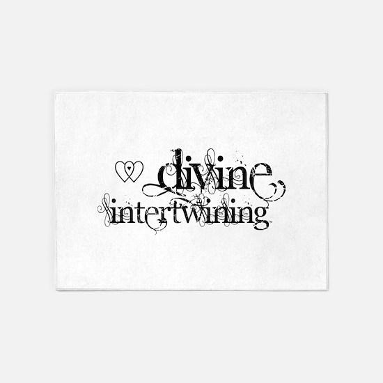 Divine Intertwining 5'x7'Area Rug