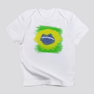 Brazil Flag Brasilian Rio Infant T-Shirt