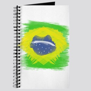 Brazil Flag Brasilian Rio Journal