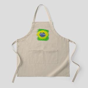 Brazil Flag Brasilian Rio Apron