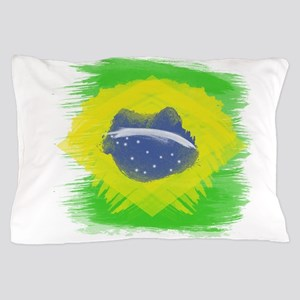 Brazil Flag Brasilian Rio Pillow Case