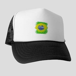 Brazil Flag Brasilian Rio Trucker Hat
