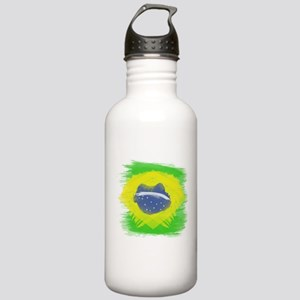 Brazil Flag Brasilian Stainless Water Bottle 1.0L