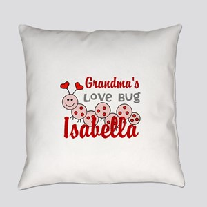 Love Bug Personalize Everyday Pillow