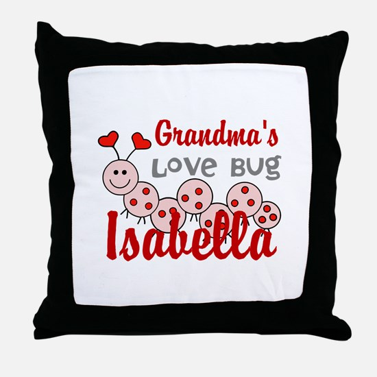 Love Bug Personalize Throw Pillow