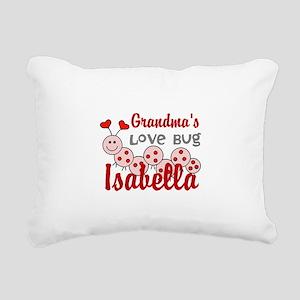 Love Bug Personalize Rectangular Canvas Pillow