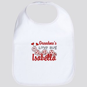 Love Bug Personalize Baby Bib