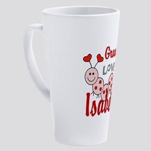 Love Bug Personalize 17 oz Latte Mug