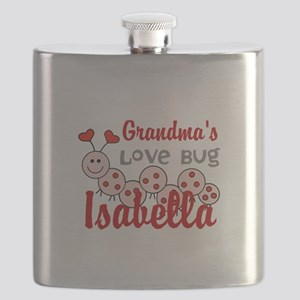 Love Bug Personalize Flask