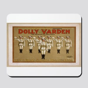 Vintage poster - Dolly Varden Mousepad