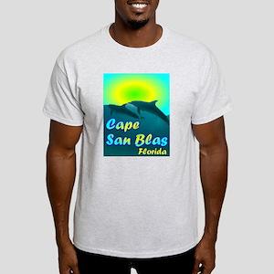 Cape San Blas Florida Ash Grey T-Shirt