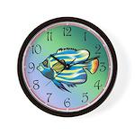 Tropical Fish 1 Wall Clock