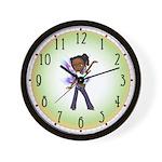 Jasmine the Hip Hop Fairy Wall Clock