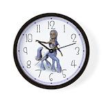 Lila the Centaur Girl Wall Clock