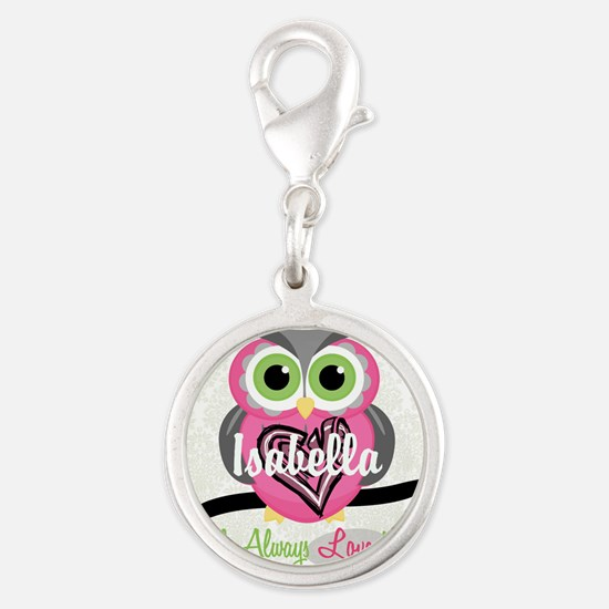 Always Love You Personalize Owl Charms