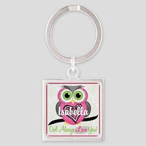 Always Love You Personalize Owl Keychains