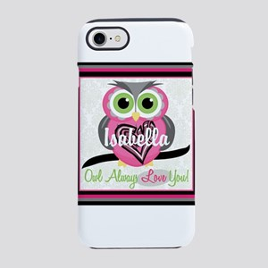 Always Love You Personalize Owl iPhone 8/7 Tough C