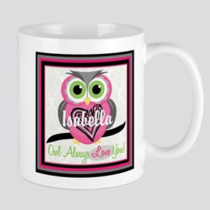 Always Love You Personalize Owl Mugs