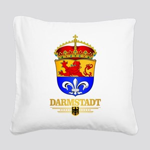 Darmstadt Square Canvas Pillow
