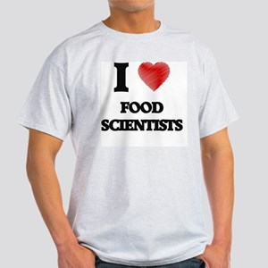 I love Food Scientists (Heart made from wo T-Shirt