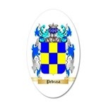 Pedraza 35x21 Oval Wall Decal