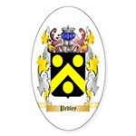 Pedley Sticker (Oval 50 pk)