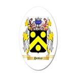 Pedley 20x12 Oval Wall Decal