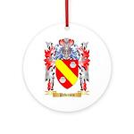 Pedersen Round Ornament