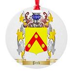 Peck Round Ornament