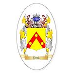 Peck Sticker (Oval 50 pk)