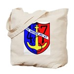 USS Neches (AO 47) Tote Bag