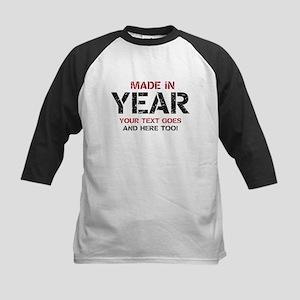 50th Birthday Party Kids Baseball T Shirts