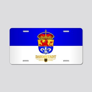 Darmstadt Aluminum License Plate