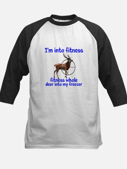 Hunting: fitness humor Baseball Jersey