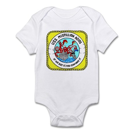 USS Mispillion (AO 105) Infant Bodysuit