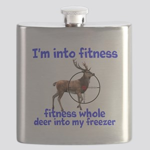 Hunting: fitness humor Flask