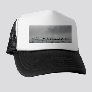 Passing Whales Trucker Hat