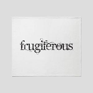 Frugiferous Throw Blanket