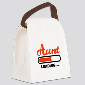 Aunt loading Canvas Lunch Bag