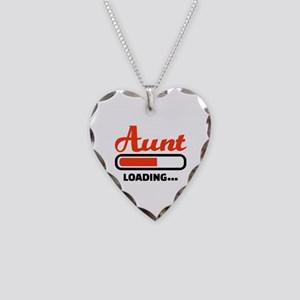 Aunt loading Necklace Heart Charm