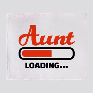 Aunt loading Throw Blanket