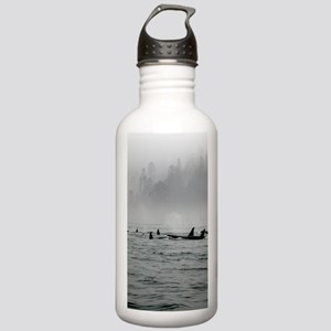 Passing Whales Stainless Water Bottle 1.0L