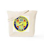 USS Milwaukee (AOR 2) Tote Bag