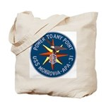 USS Monrovia (APA 31) Tote Bag