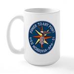 USS Monrovia (APA 31) Large Mug
