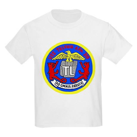 USS Telfair (APA 210) Kids Light T-Shirt