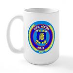USS Hector (AR 7) Large Mug